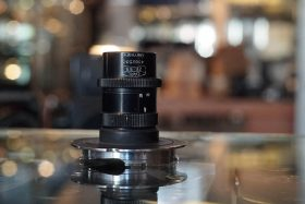 Carl Zeiss Luminar 25mm 1:3.5 on adapter to Leica-M