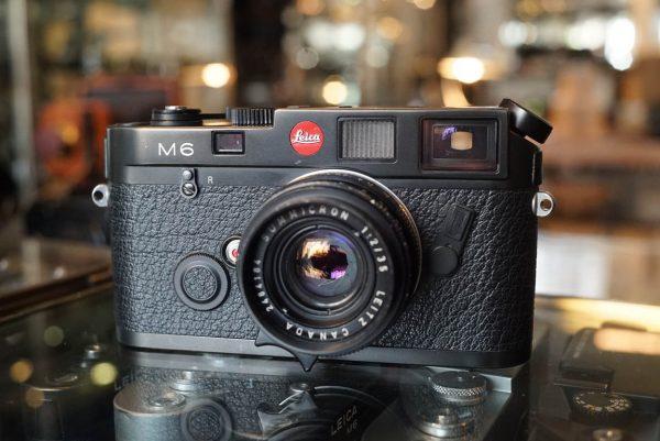 Leica M6 Big logo body