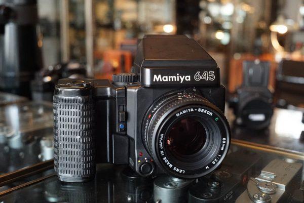 Mamiya M645 Super kit with Mamiya 2.8 / 80mm lens