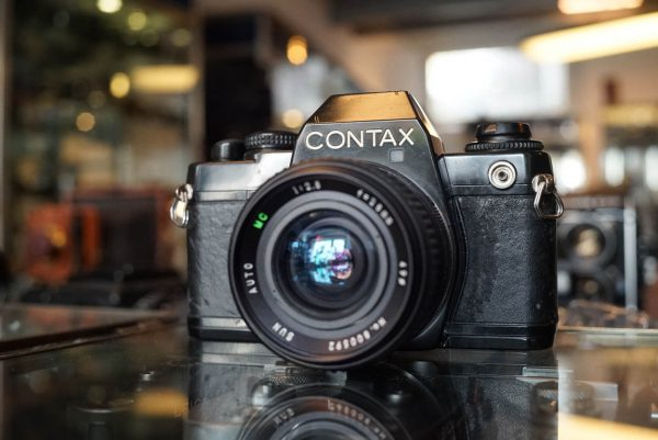Contax 139 Quartz kit with 28mm lens by Sun