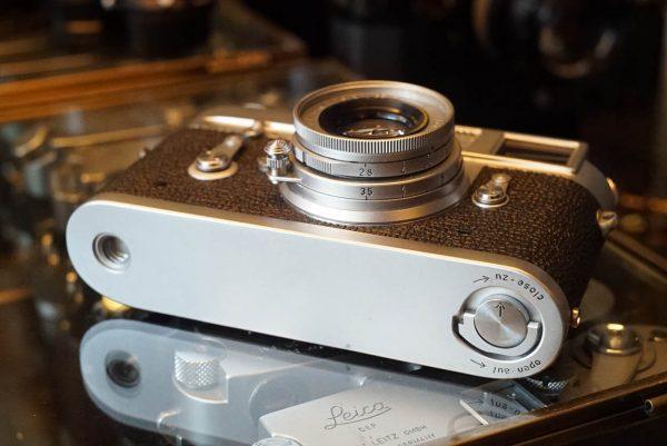 Leica M2 kit with Leitz Elmar 1:2.8 / 50mm lens