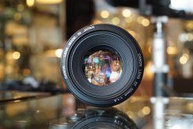 Canon lens EF 50mm 1:1.4