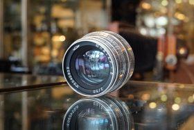 Jupiter-8 2 / 50 lens in Leica screw mount