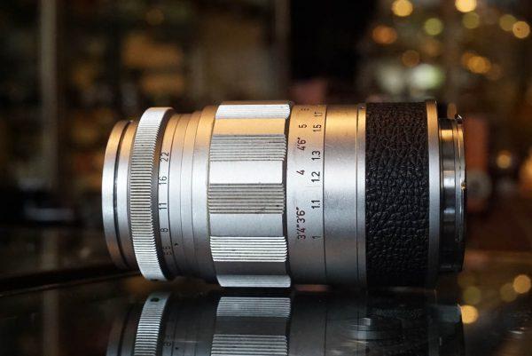Leica Leitz Wetzlar Elmarit 1:2.8 / 90mm M mount lens