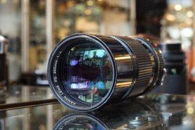 Canon lens FD 200mm 1:4 lens
