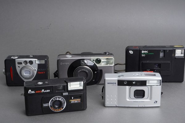 Lot of 5x compact cameras, as per pictures