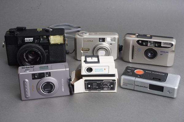 Lot of 6x compact cameras, as per pictures, one digital