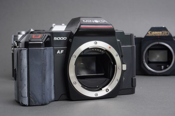Lot of 4x vintage film SLR cameras, as per pictures
