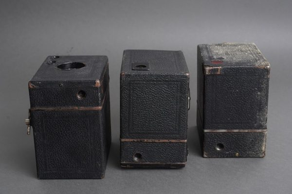 Lot of 3x box cameras by Zeiss Ikon