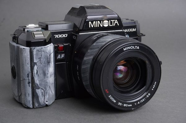 Lot of 3x AF SLR cameras: Nikon, Minolta, Canon