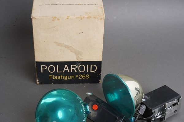 5x Polaroid 268 Flashguns (and one box)