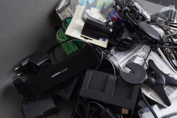 a huge lot of various cables, chargers, accessories and adapters – assorted and untested
