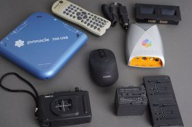 Pinnacle 700 USB and other devices / accessories, as pictured, untested
