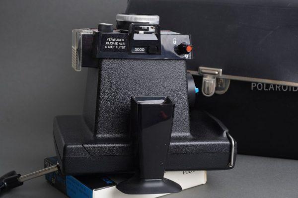 Polaroid Colorpack 80 Land Camera with Polaroid 87 BW film, expired Jan 72 :)
