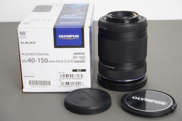 Olympus M.Zuiko Digital ED 40-150mm f4.0-5.6 R – Boxed, micro 4/3