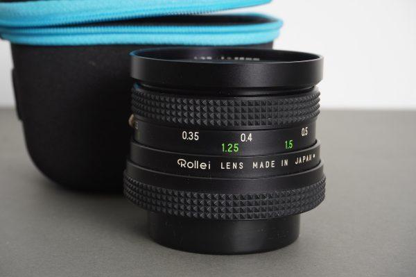 Rollei Rolleinar-MC 28mm 1:2.8, QBM mount