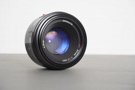 Minolta AF 50mm 1:1.7 lens