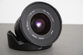 Sigma Zoom 18-35mm 1:3.5-4.5 lens, Canon EF