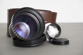 Sun telephoto attachments for Rolleiflex cameras with Bay I filter mount, cased