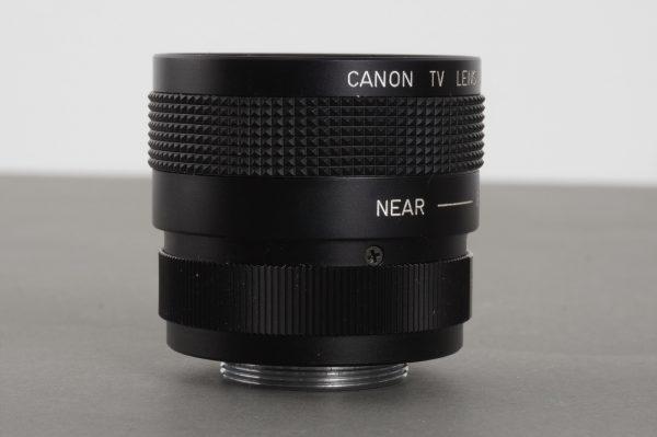 Canon TV lens 16mm 1:1.4 (C-mount)