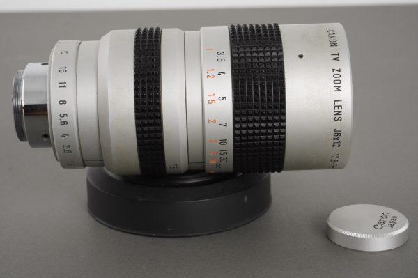 Canon TV Zoom Lens 12.5-75mm 1:1.8 C-mount
