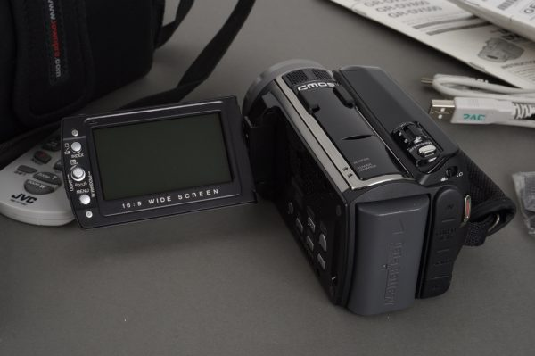 Lowepro Edit 110 camera case + JVC camcoder
