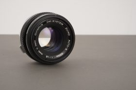 Olympus Zuiko Auto-S 50mm 1:1.8 lens