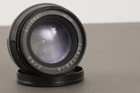 Jupiter-8 50mm 1:2 Leica LTM mount lens