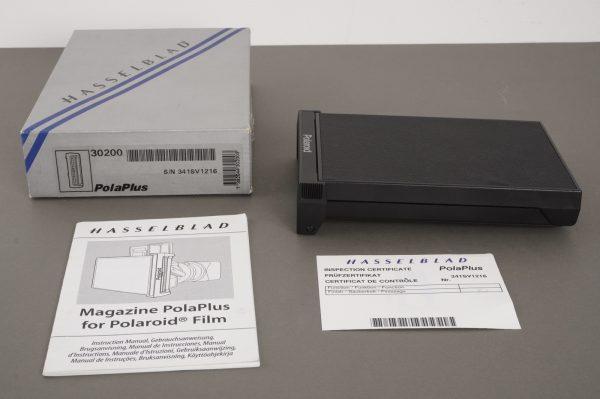 Hasselblad 30200 PolaPlus polaroid film back – BOXED