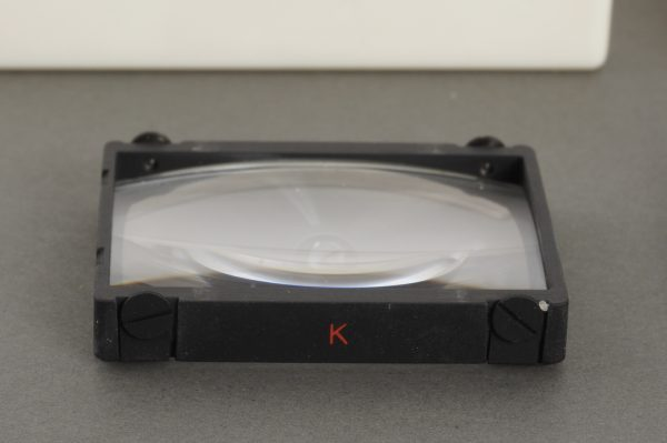 Nikon Type K and Type B focusing screen for F and F2 camera, lot of 2