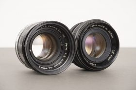 Petri lenses: 2/55mm and 1.8/55mm