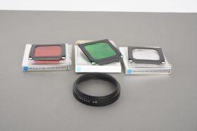 Hasselblad Gelatin Filter Holder 40690 lot of 3x + B70 mount