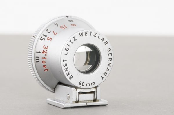 Leica Leitz SGVOO external bright line finder for 90mm lenses