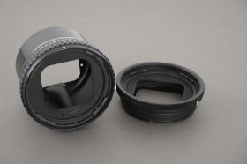Hasselblad extension tubes for V mount cameras: 16mm and 55mm