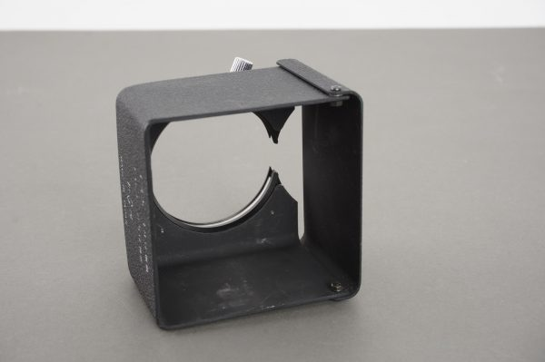 Mamiya TLR lens hood for 180mm and 250mm Sekor lenses