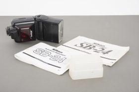 Nikon Speedlight SB24 flash with diffusor