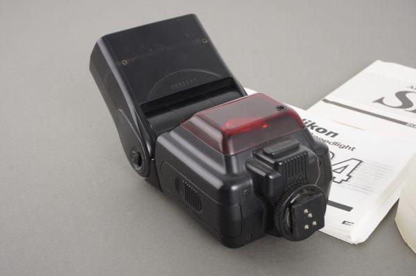 Nikon Speedlight SB-24 flash with diffusor