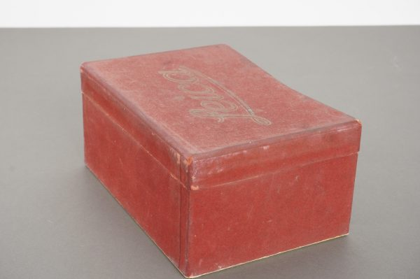 Vintage empty box for early Leica screw-mount camera