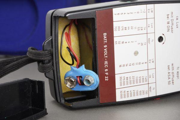Gossen Lunasix F lightmeter, in case
