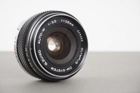 Olympus Zuiko 28mm 1:3.5 Auto-W lens