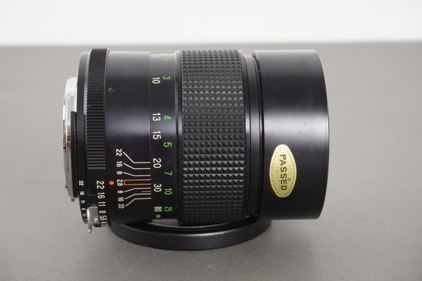 Vivitar 135mm 1:2.8 lens, Nikon AI