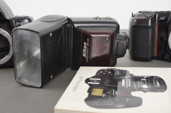 Nikon F801s, F801, SB-24 – all defective