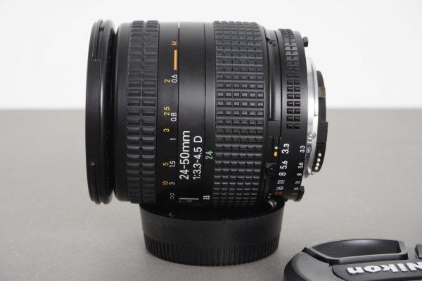Nikon AF Nikkor 24-50mm 1:3.3-4.5 D lens