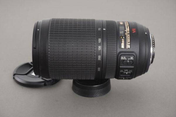 Nikon AF-S Nikkor 70-300mm 1:4.5-5.6 G ED VR lens