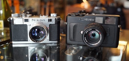 nikon S and Konica Hexakr RF
