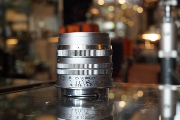 Leica Leitz Weztlar Summarit f=5cm 1:1.5 with M mount