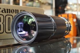 Canon lens FD 300mm 1:5.6