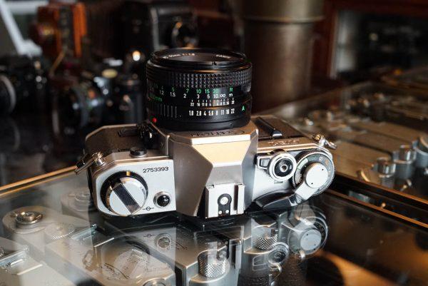 Canon AE-1 kit + Canon lens FD 1:1.8 / 50mm