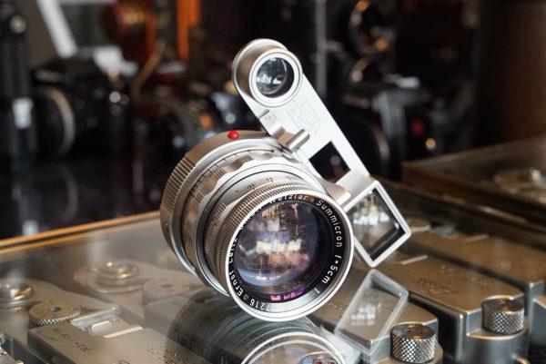 Leica Leitz Wetzlar DR-Summicron 1:2 / 5cm, Close focus version