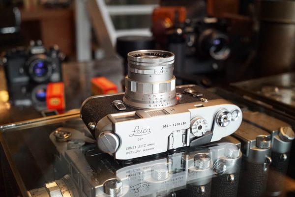 Leica M4 + Rigid Summicron 1:2 / 50mm lens